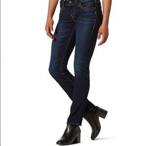 SILVER JEANS    Suki Straight Leg Jeans